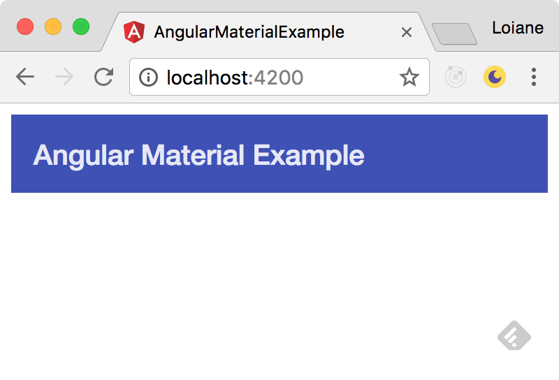 Getting Started with Angular Material 2