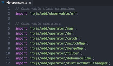 Angular Tips: Avoiding duplication of RxJS operator imports