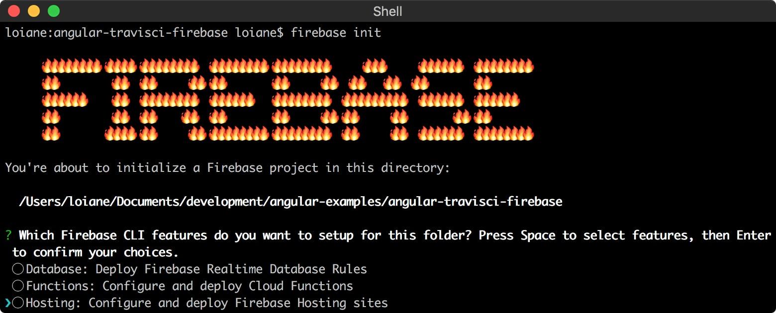 Continuous Integration with Angular CLI + Travis CI + Firebase