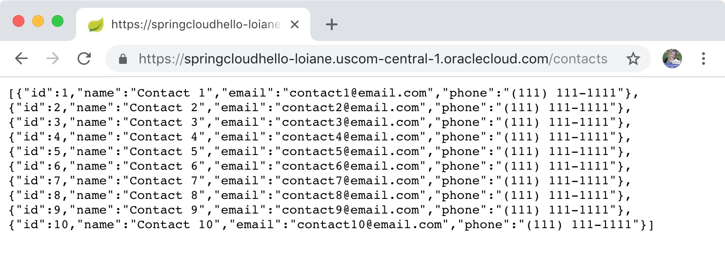 Deploying a Spring Boot REST Application to Oracle Cloud